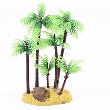jardin plastic palm tree plant underwater aquarium ornament 5 4