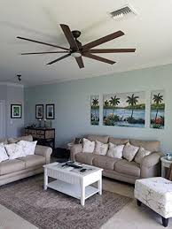 Ceiling Fan For Living Room Kensgrove 72 In Led Indoor Outdoor Espresso Bronze