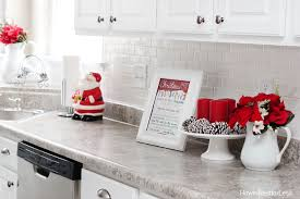 Kitchen Decor Christmas Kitchen Décor How To Nest For Less