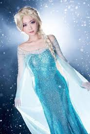 Elsa Halloween Costumes Aliexpress Buy 2015 Elsa Costume Elsa Dress