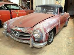 1960 used mercedes 190sl sold at dixie cars serving