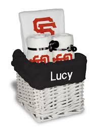 san francisco gift baskets personalized san francisco giants small gift basket mlb baby gift