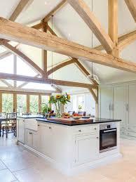 Barn Kitchen Ideas Welsh Oak Frame Kitchen Extension Räume Pinterest Upvc
