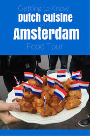 cuisine in amsterdam to cuisine on an amsterdam food tour
