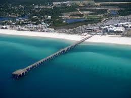 Panama City Beach Florida Map by Panama City Beach Piers Russell Fields Pier U0026 More