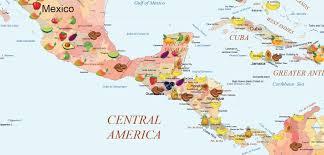 Caribbean Sea Map Northandsouthamerica Map Canada Usa Mexico Guatemala Cuba Cuba