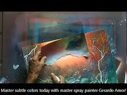 airbrush painting spray paint art technique how to mix acrylic