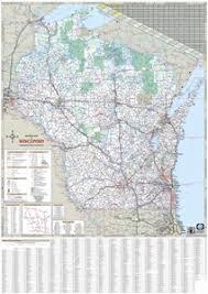 themapstore wisconsin state highway map