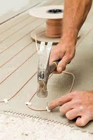 radiant heating subfloor heated subfloor basics