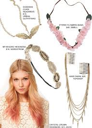hippie hair accessories adorn your hair with the hippie chic jewelry trend fashion