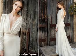 stylish wedding dresses 20 stylish wedding dresses with sleeves from etsy southbound