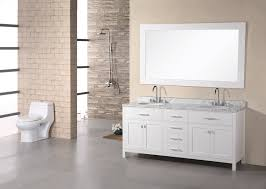 Free Standing Bathroom Vanities by Bathroom Free Standing White Bathroom Vanities In Double Bathroom