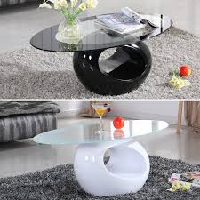 glass living room tables 28 images design modern high glass oval coffee table contemporary modern design living room