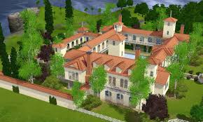 sims 3 spanish villa by ramborocky on deviantart