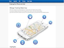 Expense Report Tracking by Mileage Fleet And Vehicle Expense Tracking Triplog Quickbooks