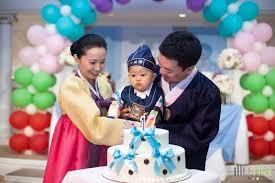 korean birthday s korean 1st birthday party dol dohl baby dol