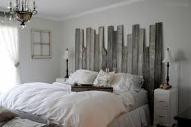 White Wood Headboard The Rustic Wood For Your Headboard With A Design