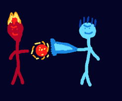 fire ice humans