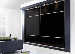 Black Armoire Wardrobes Bedroom Interesting Black Armoire Wardrobe With Curtain
