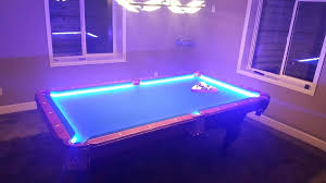 led pool table light led pool table light led light demo diy led pool table light