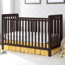 My Baby Is Chewing On His Crib by Delta Children Bennington Classic 3 In 1 Convertible Crib Dark