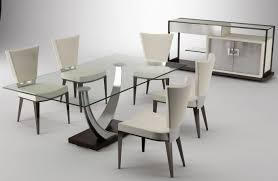 furniture interior long glass top table plus crossed white steel