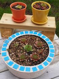 joypix diy cement pots for plants