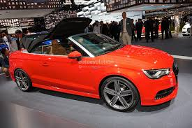 convertible audi 2013 frankfurt 2013 new audi a3 cabriolet live photos autoevolution