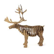 Reindeer Decoration 3d Puzzle Deer Christmas Reindeer Decoration Toy Craft Kids And