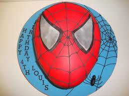 spiderman face cake celebration cakes cakeology
