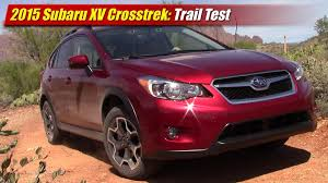 subaru crosstrek lifted trail test 2015 subaru xv crosstrek testdriven tv