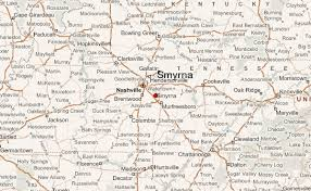 smyrna map smyrna tennessee location guide
