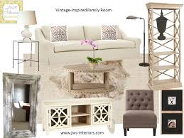 jws interiors neutral u0026 natural family room design board