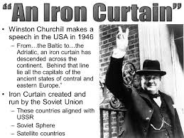 Winston Churchill Iron Curtain Speech Day Swbat U2026 U2013analyze The Esp Effects Of The Cold War On Europe
