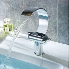 Modern Bathroom Taps Modern Bathroom Taps Waterfall Basin Mixer Sink Tap Chrome Brass H
