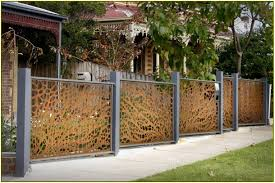 decorative fence ideas home design ideas