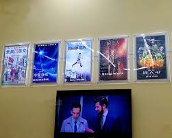 lighted movie poster frame lighted up acrylic movie poster frame a3 lightbox led edge lit walll