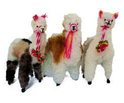 small alpaca ornament peruvian ethnic decoration anniversary