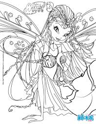 flora transformation bloomix coloring pages with winx coloring