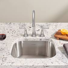 American Standard Stainless Steel Kitchen Sink by Prevoir Stainless Steel Undermount 1 Bowl Kitchen Sink American