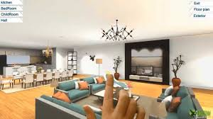 virtual interior design software 360 virtual reality interior application experience for touch screen