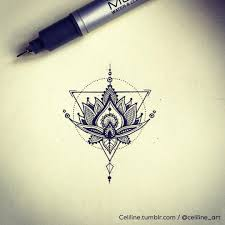 what does flower tattoos really mean lotus flower tattoo design and idea geometric illustration