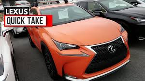 lexus nx buy quick take 2017 lexus nx molten pearl youtube