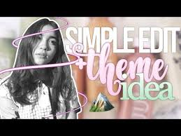 how to make fan edits simple edit for beginners free apps feed idea