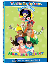 Comfy Couch Opening To The Big Comfy Couch Manners Matter 2004 Vhs Uk Print
