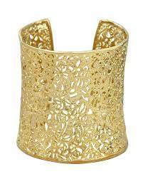 cuff bracelet with gold images Ainsley cuff bracelet in gold filigree kendra scott jpg