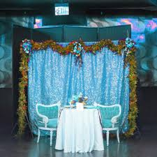5ft 6ft gold silver fabric photography wedding backdrops sequin photo booth for party decoration in party diy decorations from home garden on