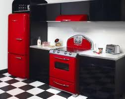 Red Wall Kitchen Ideas Red And White Kitchen Cabinets The Best Home Design