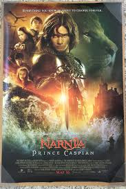 narnia film poster chronicles of narnia prince caspian movie poster 2 sided original