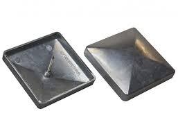 kokille quickcap aluminum flat top post cap